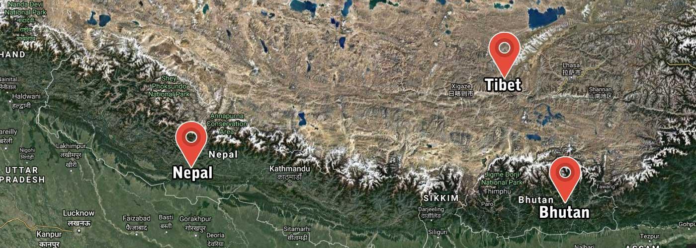Our Destination: Nepal, Tibet & Bhutan