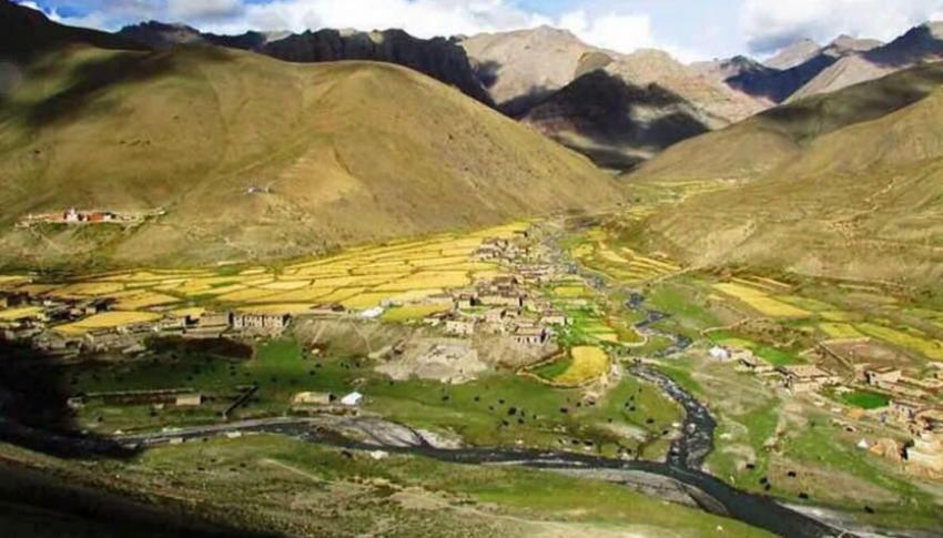 Dho Tarap Village at Upper Dolpo